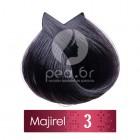 3 L'Oréal Majirel - Тъмно-кафяво - 50 ml
