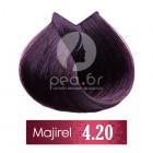 4.20 L'Oréal Majirouge - Средно кафяво интензивно виолетово - 50 ml