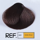 4.3 REF Colour - Златно кафяво - 100 ml