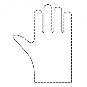 Еднократни ръкавици дамски 100 бр.