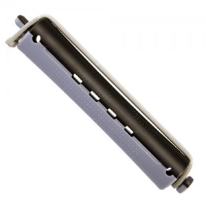 Ролки за студено къдрене сиво-черни 16 мм 12 бр.