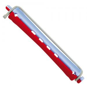 Ролки за студено къдрене синьо-червени 11 мм 12 бр.