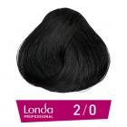 2/0 Londacolor - Черно - 60 ml