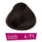 4/71 Londacolor - Средно кестеняво кафяво пепелно - 60 ml