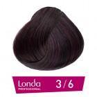 3/6 Londacolor - Тъмно кестеняво виолетово - 60 ml