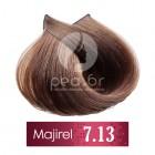 7.13 L'Oréal Majirel - Средно русо пепелно златисто - 50 ml