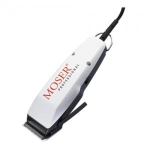 Moser 1400 (бяла) - професионална машинка за подстригване