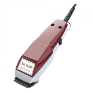 Moser 1400 Mini (бордо) - машинка / тример за прецизно подстригване