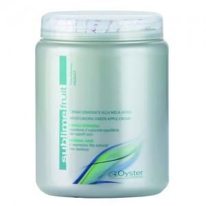 Хидратираща крем-маска за нормална коса със зелена ябълка - 1000 ml