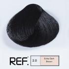 2.0 REF Colour - Супер тъмно кафяво - 100 ml