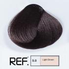 5.0 REF Colour - Светло кафяво - 100 ml