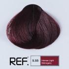 5.55 REF Colour - Интензивно светъл махагон - 100 ml