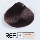6.0 REF Colour - Тъмно русо - 100 ml
