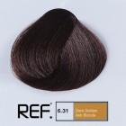 6.31 REF Colour - Тъмно златно пепелно русо - 100 ml