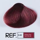 6.62 REF Colour - Ярко червено тъмно русо - 100 ml