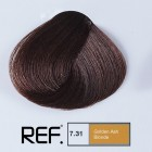 7.31 REF Colour - Златно пепелно русо  - 100 ml