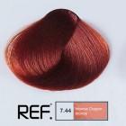 7.44 REF Colour - Интензивно медно русо - 100 ml