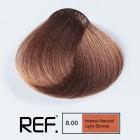 8.00 REF Colour - Интензивно натурално светло русо - 100 ml