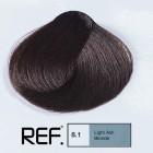 8.1 REF Colour - Светло пепелно русо - 100 ml