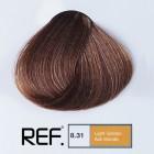 8.31 REF Colour - Светло златно пепелно русо - 100 ml