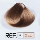 9.0 REF Colour - Много светло русо - 100 ml