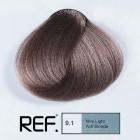 9.1 REF Colour - Много светло пепелно русо - 100 ml