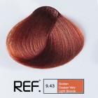 9.43 REF Colour - Златно медно много светло русо - 100 ml