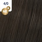 4/0 Wella Koleston Perfect - Средно кафяво - 60 ml