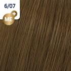 6/07 Wella Koleston Perfect - Тъмно-русо натурално кафяво - 60 ml