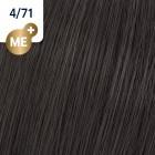 4/71 Wella Koleston Perfect - Средно-кафяво кафяво-пепелно - 60 ml