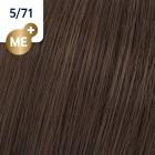 5/71 Wella Koleston Perfect - Светло-кафяво кафяво-пепелно - 60 ml