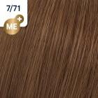 7/71 Wella Koleston Perfect - Средно-русо кафяво пепелно - 60 ml
