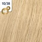 10/38 Wella Koleston Perfect - Най-светло русо златисто перлено - 60 ml