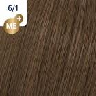 6/1 Wella Koleston Perfect - Tъмно-русо пепелно - 60 ml