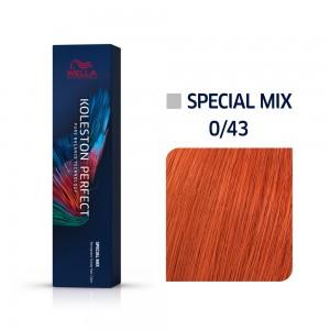 0/43 Wella Koleston Perfect - Червено златисто - 60 ml