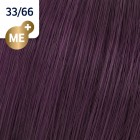 33/66 Wella Koleston Perfect - Интензивно тъмно-кафяво интензивен виолет - 60 ml