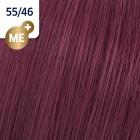55/46 Wella Koleston Perfect - Интензивно светло-кафяво червено-виолетово - 60 ml