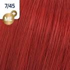 7/45 Wella Koleston Perfect - Средно-русо червен махагон - 60 ml