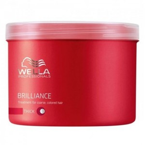 Brilliance - Маска за блясък на боядисаната гъста коса - 500 ml