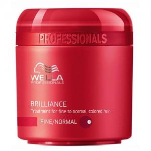 Brilliance - Маска за блясък на боядисаната нормална / тънка коса - 150 ml