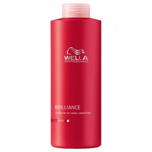 Brilliance - Шампоан за блясък на боядисана гъста коса - 1000 ml