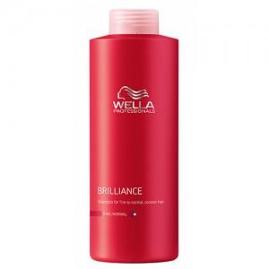 Brilliance - Шампоан за блясък на боядисана фина коса - 1000 ml